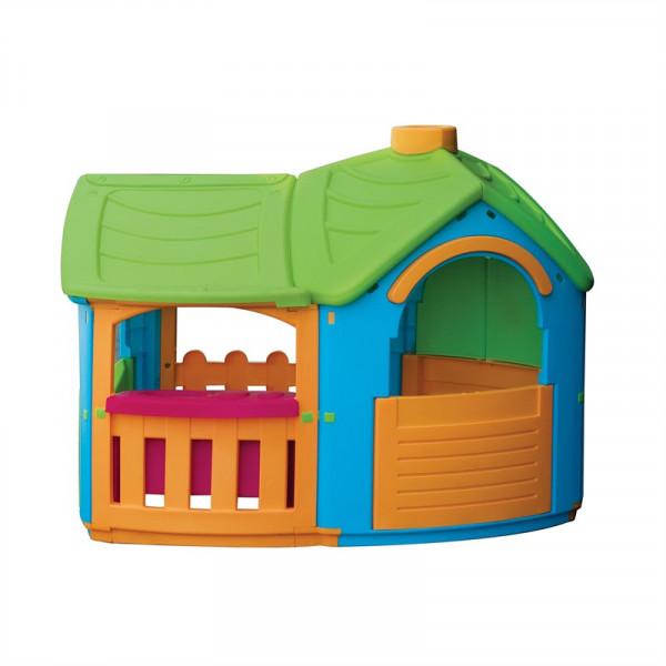 """Детский пластиковый домик """"Вилла с пристройкой"""" Marian Plast 662"""