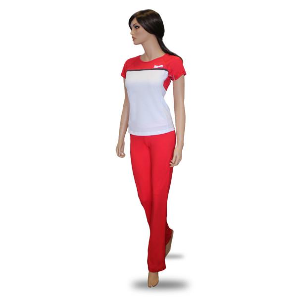 Комплект женской одежды для фитнеса Kampfer Flame red