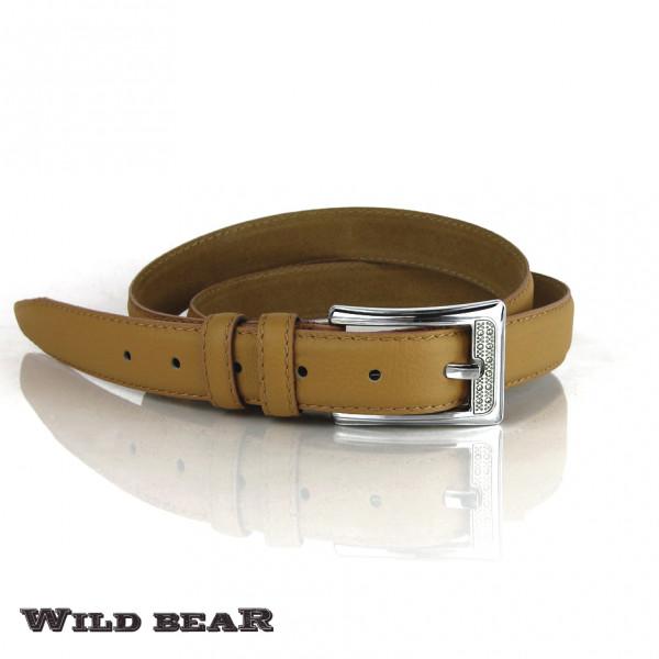 Ремень WILD BEAR RM-019 Beige
