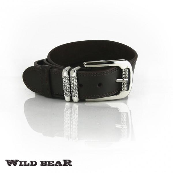 Ремень WILD BEAR RM-023 Brown