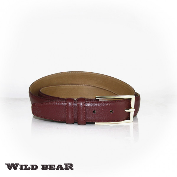 Ремень WILD BEAR RM-015 Vinous