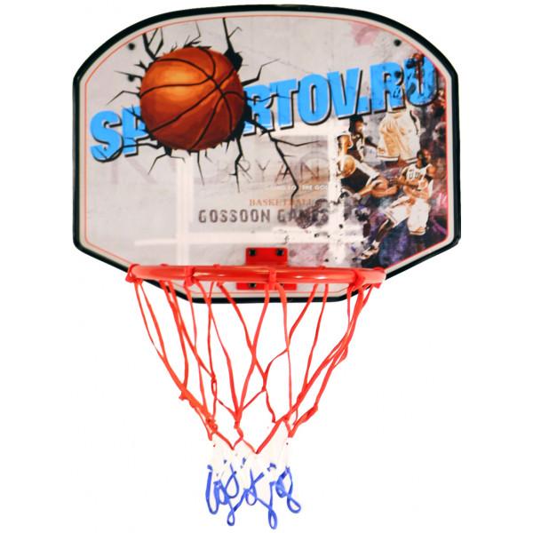 Щит баскетбольный с мячом и насосом BS01541