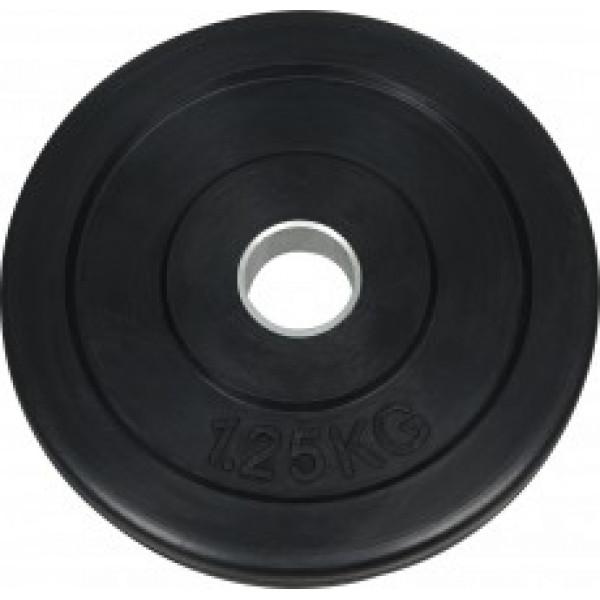 Диск обрезиненный NT121 черный д50мм 1,25кг