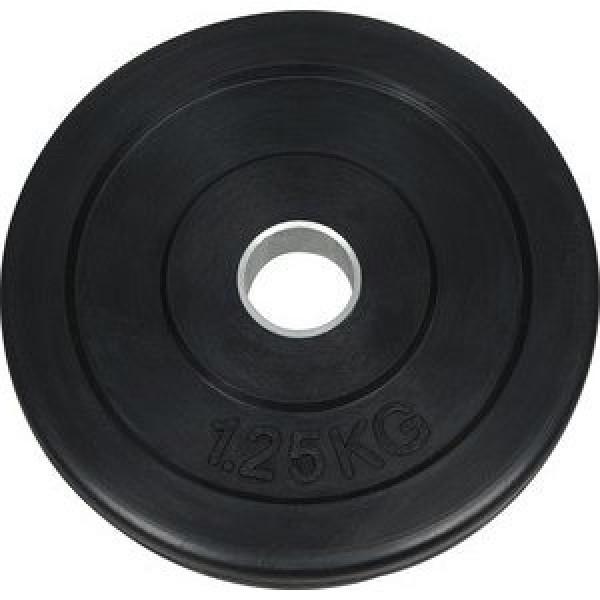 Диск обрезиненный NT121 черный д25,6мм 1,25кг