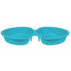 """Детская пластиковая песочница мини-бассейн """"Сердечко двойное"""" PalPlay 435"""