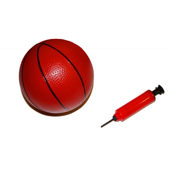 Набор детский баскетбольный мяч с насосом BS01542