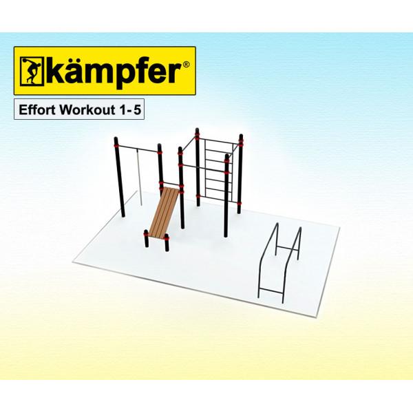 Воркаут площадка Kampfer Effort Workout 1-5