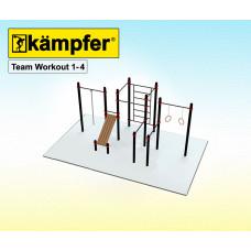 Воркаут площадка Kampfer Team Workout 1-4