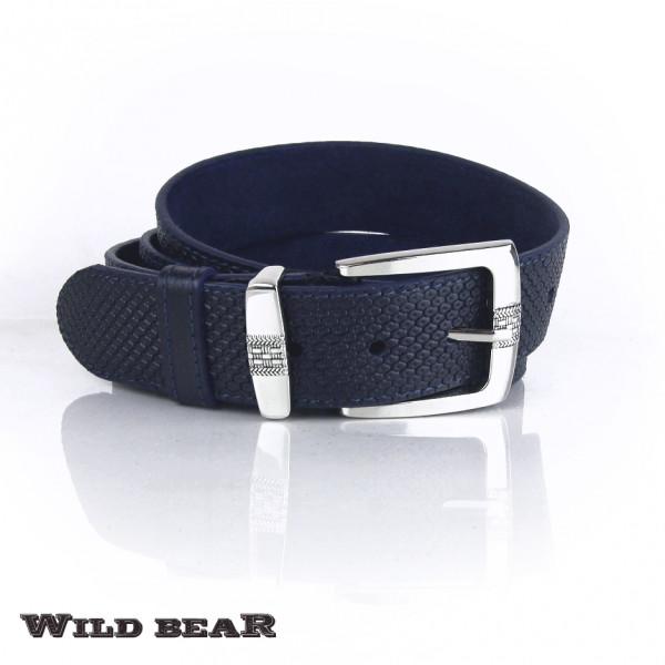 Ремень WILD BEAR RM-018 Dark-blue
