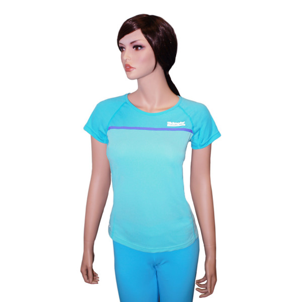Футболка женская для фитнеса Kampfer Light blue
